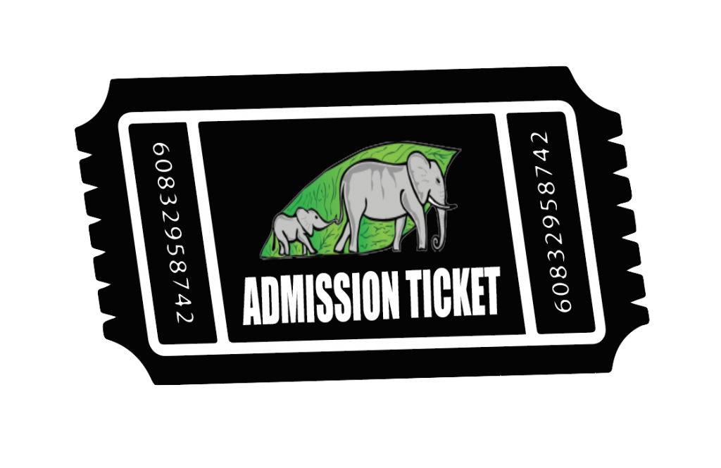 Admission Ticket png